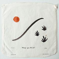 John Zabawa Mornings upon the hill, 2017 Ink on found vinyl Dust Cover x Heart Art, Art Inspo, Painting & Drawing, Design Art, Graphic Design, Flag Design, Layout Design, Interior Design, Art Drawings