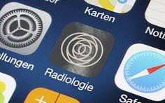 RADIOLOGIE App Design für iPhone, iPad und Android. #Radiologie #App #Design #iPhone #iPad #Android