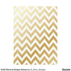 Gold Shiny Metallic Chevron Stripes Pattern Fleece Blanket http://www.zazzle.com/gold_chevron_stripes_pattern_fleece_blanket-256269556140220425?rf=238213022379565456