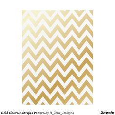 Gold Shiny Metallic Chevron Stripes Pattern Fleece Blanket http://www.zazzle.com/gold_chevron_stripes_pattern_fleece_blanket-256269556140220425?rf=238213022379565456