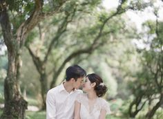 Ethereal Forest Engagement | Hong Kong Wedding Blog