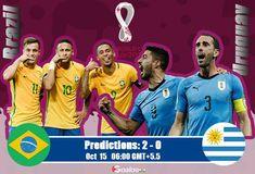 #CONMEBOL #FIFA #WorldCupQatar2022 #WorldCupqualification #football #soccer #soccergame #footballtips #footballgame #sport #prediction #livescore #Brazil #Uruguay