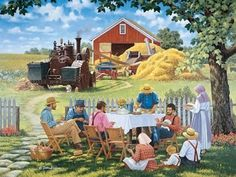 Country Dining (80 pieces)