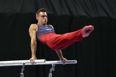 Fall in love with the faces of USA Gymnastics  -    Sam Mikulak:    Another holdover from the 2012 London Games, Mikulak seemed destined to be a gymnast from birth. I mean, what else are you supposed to do when both of your parents were gymnasts? You're definitely not going to be competing in croquet. While Chris Brooks is the captain of this team, Mikulak may be its best athlete. He has won four consecutive all-around national championships and could be in the running for an000   More...