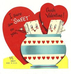 I Sure am Sweet on You, Gosh Valentine * 1500 free paper dolls at Arielle Gabriel's The International Paper Doll Society and The China Adventures of Arielle Gabriel for Chinese and Japanese paper dolls free *