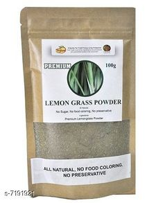 Hair Care Lemongrass Powder 100 gms Product Name: Lemongrass Powder 100 gms Brand Name: Indirang Multipack: 1 Country of Origin: India Sizes Available: Free Size   Catalog Rating: ★4 (460)  Catalog Name: Indirang Proffesional Intensive Hair Cream & Masks CatalogID_1147888 C50-SC1249 Code: 791-7191921-991