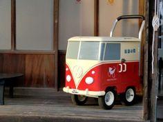 by Atsushi Yamaberi, combi VW Onba,Ogijima, Japon