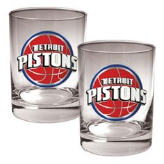 Great American NBA Logo Rocks Glass Set - GDRGDR22