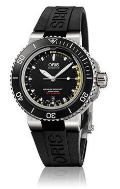 Oris Aquis Depth Gauge - 01 733 7675 4154-Set - Oris Aquis - オリス-真のスイス製機械式時計