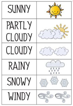 Weather Classroom Calendar Pre-K and Kindergarten - Kindergarden Kindergarten Science, Preschool Worksheets, Preschool Learning, Kindergarten Classroom, Preschool Activities, Kindergarten Calendar, Classroom Ideas, Weather Calendar, Calendar Time