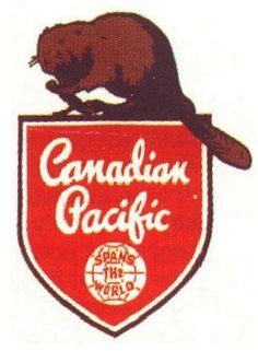 Canadian Pacific Railroad logo, I wish this was of higher resolution, so lovely and so vintage.