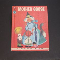 MOTHER GOOSE nursery rhymes vintage Rand by GreatFindsbyDianne