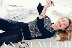 Kate Hudson for Ann Taylor Fall Winter 2013.14
