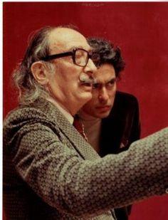 | ... of Antoni Pitxot i Soler with the artist Salvador Dalí i Domènech