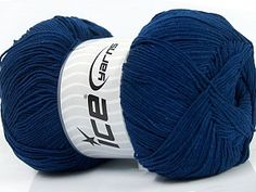Lorena Superfine Navy  Fiber Content 55% Cotton, 45% Acrylic, Navy, Brand Ice Yarns, Yarn Thickness 1 SuperFine  Sock, Fingering, Baby, fnt2-38679 Yarns, Sock, Fiber, Content, Throw Pillows, Navy, Hale Navy, Toss Pillows, Cushions