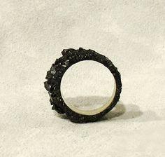 "A ""black diamond"" ring!"