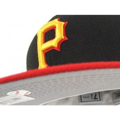 Pittsburgh Pirates New Era Hat (RETRO ALTERNATE GRAY UNDER) 489afad4615