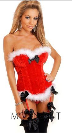 Titivateファッションセクシーな女性ベルベットコルセットビスチェランジェリーoverbustコルセットハロウィンクリスマスパティドレスプラスサイズ
