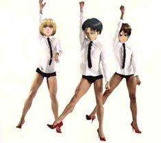 gif LOL Powerpuff Girls anime meme levi snk shingeki no kyojin Mikasa Ackerman AOT attack on titan eren jaeger hanji zoe Scouting Legion erwin smith attack on titan gif servey corps