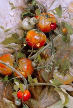 Mara Schasteen Watercolor Flowers, Watercolor Paintings, Watercolour, Vegetable Painting, Still Life Artists, Painting Still Life, China Painting, Fruit Art, Painting Inspiration