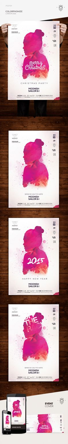 Colorphonize Poster on Behance