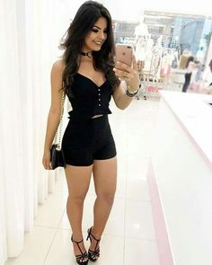 """eaglespath: """"🦅 """" I ❤️ her tight mini dress and high heels, she has sexy legs and hips💋💋💋 Classy Outfits, Sexy Outfits, Chic Outfits, Dress Outfits, Fashion Outfits, Trendy Dresses, Sexy Dresses, Cute Dresses, Look Con Short"""