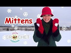 ▶ Crochet Mittens! - Jayda's Magic Mitten Tutorial - YouTube