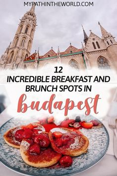 Budapest food guide: top 12 places for breakfast and brunch in Budapest Hungary!You can find Budapest hungary and m. Brunch Spots, Brunch Places, European Travel, Asia Travel, Travel Tips, Travel Destinations, Travel Goals, Hungary Travel, Voyage Europe