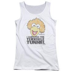Fraggle Rock: Terrible Tunnel Junior Tank Top