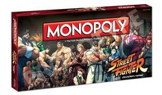 Monopoly x Street Fighter