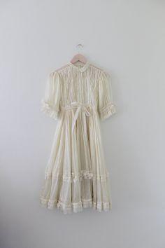 Vintage Lace Fairy Dress @Pure Dash