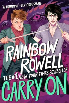 Carry On - Rainbow Rowell Goddammit.