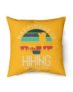 Happiness is hiking with my Dog Gifts Hike Climbing Dog Love - Gold camping and hiking, hiking in tennessee, hiking picnic food #Gifts #outdoorgift #wilderness, dried orange slices, yule decorations, scandinavian christmas