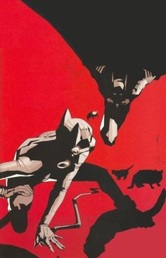 Batman and Catwoman by Jock