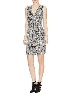 Yahzi Short Wrap Dress by Diane von Furstenberg at Gilt
