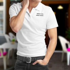 Absinthe un jour, Absinthe toujours ★ Polo shirt homme Canton De Fribourg, Special T, Absinthe, T Shirt, Polo Shirt, Men's Polo, Html, Mens Tops, Fashion