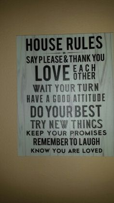 On my central wall.