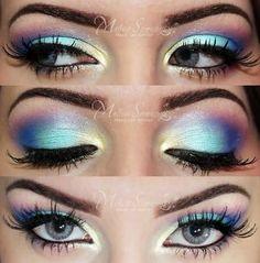 Colorful Eye Makeup!