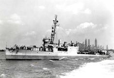 USS Semmes New York Harbor, August 1943.