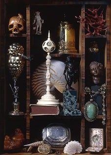 Le cabinet des merveilles de M. Laue Curiosity Cabinet, Curiosity Shop, Vanitas, Cabinet Of Curiosities, Steampunk, Gothic House, Memento Mori, Box Art, Macabre