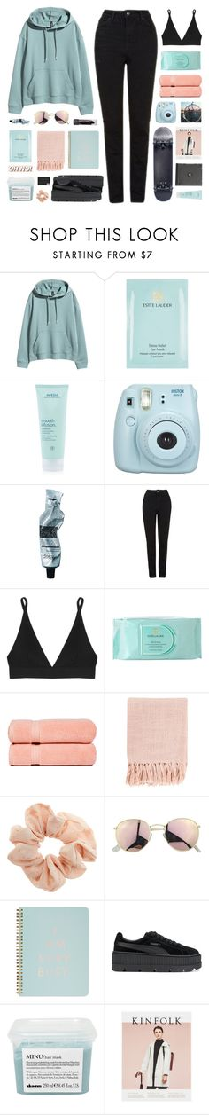 """#82 too late to press rewind"" by stellular ❤ liked on Polyvore featuring Estée Lauder, Aveda, Fujifilm, Aesop, Topshop, Base Range, Pure Fiber, Surya, ban.do and Puma"