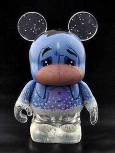 "Disney Eeyore 25th Anniversary Vinylmation 3"" loose figure"