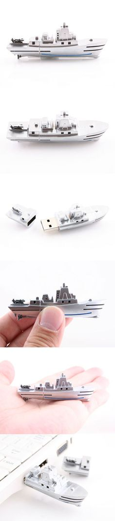 Naval Ship USB Flash Drive  http://www.usbgeek.com/products/naval-ship-flash-drive