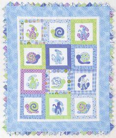 Applique Baby Quilt Patterns | Quilt Magazine | Quilt Magazine » Blog Archive » QUILT#103 – Blue ...