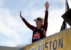 In 1967, Kathrine Switzer registered as K.V. Switzer and had to avoid an official who tried to force her from the course.