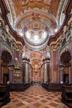 Melk Abbey is a Benedictine abbey in Austria, and among the world's most famous monastic sites.
