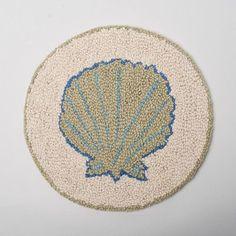Amity Home Sea Shell Chair Pad