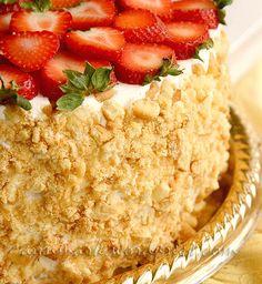 Творожно-сметанный торт