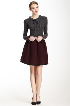 Orla Kiely Pleated Wool Blend Skirt by Assorted on @HauteLook