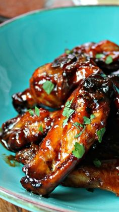 Honey Baked Chicken, Honey Chipotle Chicken, Honey Garlic Chicken Wings, Chicken Wing Sauces, Spicy Chicken Recipes, Honey Sauce For Chicken, Veggie Recipes, Asian Recipes, Sticky Chicken Wings